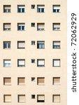 building   many windows on... | Shutterstock . vector #72062929