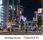 tokyo  japan   september 21st ... | Shutterstock . vector #720631975