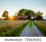 the road   | Shutterstock . vector #720634351