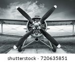 front view of an historic... | Shutterstock . vector #720635851