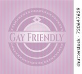 gay friendly realistic pink... | Shutterstock .eps vector #720647629