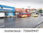 panama city august 2017  in...   Shutterstock . vector #720649447