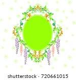 wedding invitation card   Shutterstock .eps vector #720661015