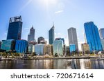 urban landscape of perth...   Shutterstock . vector #720671614