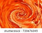 Fire Orange Digital...