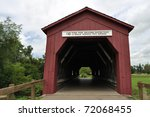 Covered Bridge Over Zumbro...