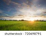 blue sky with cloud | Shutterstock . vector #720698791