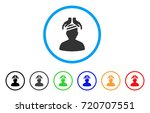 psychiatry patient cure hands... | Shutterstock .eps vector #720707551