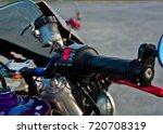 motorcycle gas knob | Shutterstock . vector #720708319