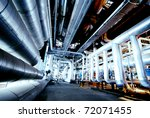 industrial zone  steel... | Shutterstock . vector #72071455