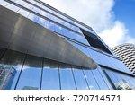 window glass  modern... | Shutterstock . vector #720714571