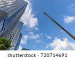 window glass  modern... | Shutterstock . vector #720714691