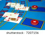 casino chips and cards | Shutterstock . vector #7207156