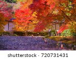 nison'in temple is a famous... | Shutterstock . vector #720731431