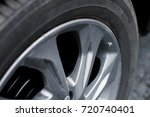 stains on alloy wheels and tires | Shutterstock . vector #720740401
