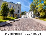 the oldest university in the...   Shutterstock . vector #720748795