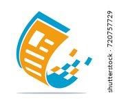 logo icons   illustrations for... | Shutterstock .eps vector #720757729