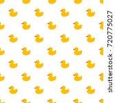 yellow duck pattern | Shutterstock .eps vector #720775027