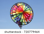 multicolored windspell  wind... | Shutterstock . vector #720779464