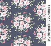 floral pattern. vector flower... | Shutterstock .eps vector #720788881