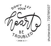 hand lettering don't let your... | Shutterstock .eps vector #720789337