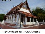wat amphawan chetiyaram   samut ... | Shutterstock . vector #720809851