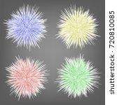 vector set of different... | Shutterstock .eps vector #720810085