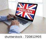 english   british england... | Shutterstock . vector #720812905