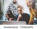 teamwork business concept... | Shutterstock . vector #720816691