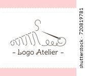 the logo atelier. vector...