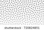 silver snowflakes. gray stars.... | Shutterstock .eps vector #720824851