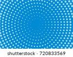 comic pattern. halftone... | Shutterstock .eps vector #720833569