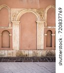 architectural details  arches ... | Shutterstock . vector #720837769