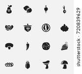 set of 16 editable kitchenware...