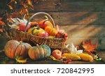 Thanksgiving Pumpkins And...