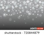 shining bokeh isolated on... | Shutterstock .eps vector #720844879