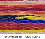 a colorful traditional handmade ... | Shutterstock . vector #720846541