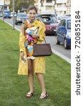 milan  italy   september 23 ... | Shutterstock . vector #720855184
