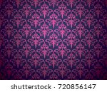 floral pattern vector... | Shutterstock .eps vector #720856147