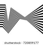 black and white stripe line...   Shutterstock .eps vector #720859177