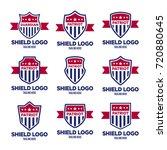 patriot logo collection | Shutterstock .eps vector #720880645