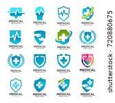 medical logo collection vector