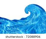 water splashing | Shutterstock . vector #72088906