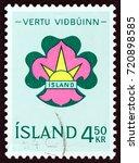 iceland   circa 1964  a stamp... | Shutterstock . vector #720898585