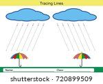follow the lines with your... | Shutterstock . vector #720899509