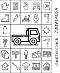 agriculture icon set  vector | Shutterstock .eps vector #720914029