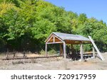 old sawmill in the nature | Shutterstock . vector #720917959