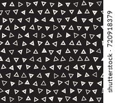 seamless primitive jumble... | Shutterstock .eps vector #720918379