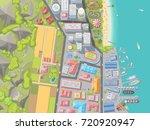 vector illustration. landscape...   Shutterstock .eps vector #720920947