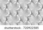 3d wall or floor white panels.... | Shutterstock . vector #720922585
